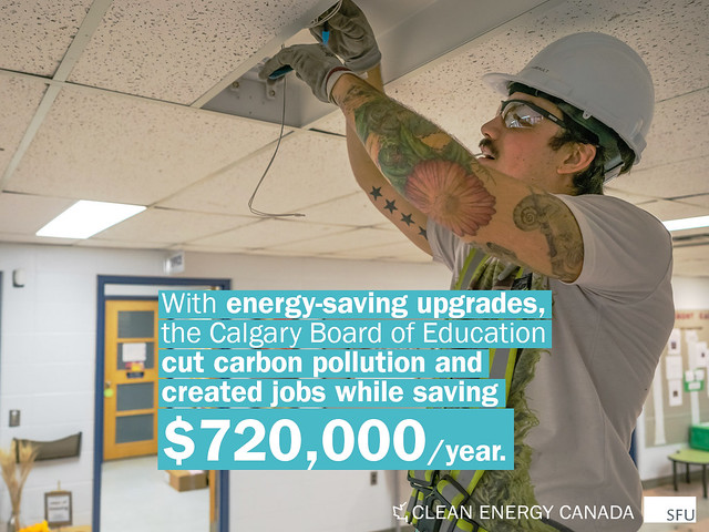 Calgary Board of Education Sustainability Plan - Energy Efficiency Upgrades