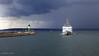 Sassnitz Hafen (mz_view) Tags: rügen sassnitz hafen leuchturm lighthouse hafeneinfahrt unwetter ostsee balticsea canoneos5dmarkii canon matthiaszabanski landschaft landscape