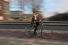 speeding girl (digitris) Tags: candid street city people digitris digitri streetphotography girl bicycle bike panning speed speeding