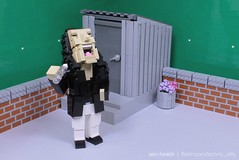 The Disaster Artist (Ochre Jelly) Tags: lego moc afol movie room wiseau disaster artist franco rogan humor character greenscreen