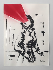 Lady X (EF Sama) Tags: eduardofilipesama contemporaryart monoprint efsama sama artecontemporânea bd contemporarydrawing mondosama motelsama woman pintura