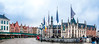 City Square Pano (Tony Shertila) Tags: bruges brugge dijver architecture bridge brussels canal cityscape water 20170830143250 europe belgium outdoor square city people sky building structure carillion vlaanderen bel