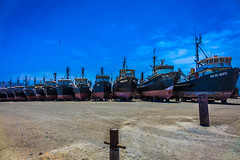 This fishing fleet was just outside Antofagasta.