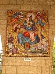 4 - Angyali üdvözlet temploma - Szűz Mária tiszteletét kifejező kép - Szlovákia / Bazilika Zvestovania - obraz Panny Márie - Slovenská republika