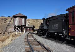 Osier (std70040) Tags: cumbresandtoltec cumbrestoltec colorado steam steamlocomotive steamengine steamtrain denverriogrande denverandriogrande watertower k27