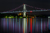 FDR Bridge (10iggie) Tags: lights bridge night colors midhudsonbridge franklindroosevelt poughkeepsie hudsonvalley upstate newyork state highland reflections