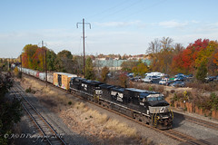 NS 14G @ Oxford Valley, PA (Darryl Rule's Photography) Tags: 14g 2017 buckscounty cpjohn catenary diesel diesels eastbound fall freight freightcar freighttrain freighttrains ge mixedfreight morrisvilleline morrisvilleyard ns norfolksouthern november oxfordvalley pa pc prr penncentral pennsy pennsylvania pennsylvaniarailroad railroad railroads sun sunny train trains trentoncutoff