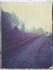 Morning road (Maija Karisma) Tags: polaroid instant pola littlebitbetterscan graflexpacemakerspeedgraphic graflex 559 peelapart 4x5 largeformat expiredfilm polaroidback instantback