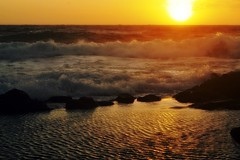 Sunset in Shurhuq,Pantelleria Island,Sicily (mirella cotella) Tags: pantelleria sunset colors tones light seascapes mood atmosphere travel places island water waves golden 1001nights 1001nightsmagiccity