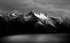Alpine landscape. NZ (Bernard Spragg) Tags: blackandwhite bw mono alpine landscape newzeaand