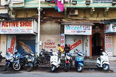 Shoe shops, Mumbai (NovemberAlex) Tags: bombay colour india shopfront urban