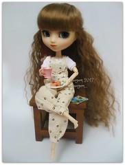 Pancakes (Linayum) Tags: vanilla pullip pullipdita pullips pullipdoll doll dolls cute kawaii pancakes linayum