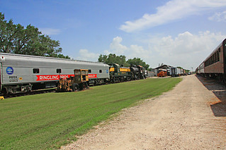 Florida Railroad Museum, Willow Yard, Looking South