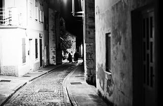 summer night walk