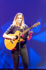 Dutch singer Marit Trienekens playing guitar - TEDxVenlo 2017 (marcoverch) Tags: entrepreneur personalgrowth tedx conference venlo ted konferenz music musik performance musician musiker concert konzert guitar gitarre singer sänger instrument guitarist gitarrist stringedinstrument saiteninstrument festival stage stufe band adult erwachsene popmusic popmusik one eins recreation erholung people menschen 7dwf deutschland australia d750 pretty desert otoño naturaleza seascape dutchsinger marittrienekens playingguitar tedxvenlo2017