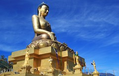Buddha Dordenma -  Indestructable Buddha - Thimphu (36) (Richard Collier - Wildlife and Travel Photography) Tags: buddhadovenma indistructablebuddha thimphu bhutan buddhism