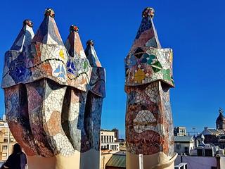 Barcelona, Casa Batlló Chimneys