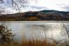 Fire & Ice [Explored] (Jessie T*) Tags: thompsonriver kamloopsbc canada water trees autumn fall grass hills landscape