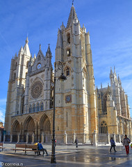 Catedral  (León) - Castilla y León (correia.nuno1) Tags: león espanha europa monumentos españa leão spain