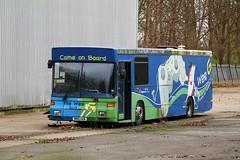 Last man standing! (busmanscotland) Tags: 28955 m100aab stagecoach western m100 aab wee g bus scania l113crl alexander strider aa buses dodds troon 455 uib3076 uib 3076