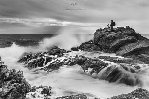 Fotógrafo y el Mar