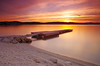 ****** (Renato Bareta photography) Tags: sunset seascape waterscape shoreline beach sky clouds adriaticsea dalmatia croatia islandčiovo pontoon gravel longexposure cokinfilter bw nd 1000 coast vivid colours