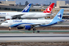 Interjet | Airbus A320-200 | XA-IJA | Los Angeles International (Dennis HKG) Tags: interjet mexico 4o aij airbus a320 airbusa320 aircraft airplane airport plane planespotting losangeles lax xaija canon 7d 100400 klax