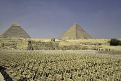The Piramids of Giza complex (T Ξ Ξ J Ξ) Tags: egypt cairo fujifilm xt2 teeje fujinon1024mmf4 pyramids giza great complex