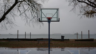 Autumnal glimpses: From the Kits Beach basketball court and beyond