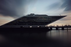 gotham city (christian mu) Tags: longexposure dockland hamburg germany architecture zeiss batis 25mm 252 batis252 sonya7ii sony christianmu hafen harbour