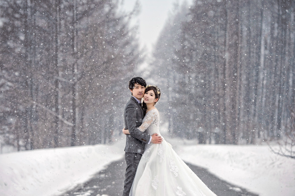 北海道婚紗 美瑛婚紗拍攝