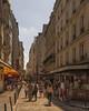 Rue de la Huchette (BAN - photography) Tags: ruedelahuchette paris people tourists shops cafes restaurants hotels bakeries bars d810 signs windows sky