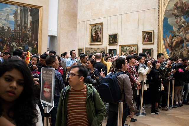 The Mona Lisa Tourists