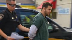 Green (cuffed_inmate) Tags: inmate orange prison prisoner sentenced punished cuffed iron uniform