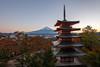 Chureito Pagoda (Rodney Topor) Tags: architecture chureitopagoda japan landscape ooak sunset mtfuji fujiyoshida canonef1635mmf4lisusm hdr