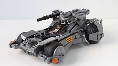 Justice League Batmobile in Lego (hachiroku24) Tags: lego batman batmobile justice league 2017 moc afol instructions car superhero
