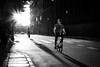 (fernando_gm) Tags: urban urbano callejera calle city ciudad 35mm españa spain street sol puestadesol blackandwhite blancoynegro madrid man monochrome monocromo monocromatico bike bicicleta bici shadow sombras people person persona hombre human humano fujifilm fuji f14 xt1