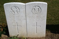 J. Galloway, Seaforth Highlanders & A. McKean, Cameron Highlanders, War Grave, 1915, Le Treport (PaulHP) Tags: cwgc world war graves headstones france le treport military cemetery private j john galloway service number s3464 2nd october 1915 a coy company 8th bn battalion seaforth highlanders james janet 9 thirlestane lane edinburgh scotland lance corporal andrew mckean 12728 3rd 1st cameron thos h one ww1 grave headstone