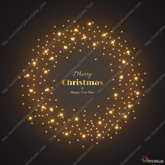 Christmas glowing background. (everythingisfivedollar) Tags: merry christmas holiday glitter happy glow glowing background abstract shine magic vector bright new year light gold golden black sparkle shiny design spark yellow illustration decoration effect xmas card bokeh circle round graphic glittering magical shimmer luxury wallpaper greeting dust element festive flash shimmering frame motion texture star fantasy celebration