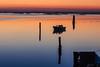 Scardovari (paolotrapella) Tags: sunset scardovari valle mare sea tramonto italy boat greatphotographers