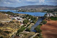 View of the Guadalete River, Arcos de la Frontera (Jocelyn777) Tags: arcosdelafrontera cadiz andalucia spain travel textured
