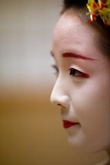 Maiko #1 [ Kyoto ~ Japon ] (emvri85) Tags: d850 japan japon kyoto maiko zeiss 135mm portrait girl fille japanese bokeh geisha