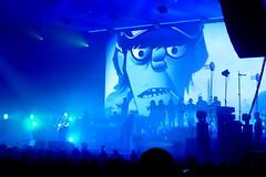Gorillaz - Zénith Paris 2017 (7) (Mhln) Tags: gorillaz live concert paris zenith humanztour damonalbarn