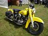 H-D Panhead (EasyriderFXDWG) Tags: hd harleydavidson panhead bike motorcycles bécane vpower vtwin classicbike yellow jaune verdure moto motocyclette lepechereau france indre runcapsud 2010 dragster alltypesoftransport