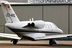 EC-HVQ CESSNA CITATION 525 NEWCASTLE (toowoomba surfer) Tags: bizjet businessjet executiveaviation jet aeroplane ncl egnt