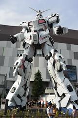 tokyo6403 (tanayan) Tags: urban town cityscape tokyo japan nikon v3 東京 日本 gundam unicone daiba 台場 ガンダム rx0 unicorn statue