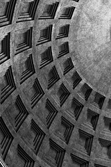 Pantheon Pattern (tehroester) Tags: pantheon rome italy city architecture bw black white monochrome nikon d3300 35mm romans ancient pattern