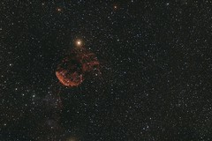 IC443_330D_INED_11X600s_ISO400_with QHY23_SOH_27x600s_final_8bit (j.g.hunt) Tags: jellyfish nebula ic443 gemini widefield narrowband takahashi e130 ts ined apo canon 300d qhyccd qhy23