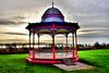 Bandstand (Geoff Henson) Tags: bandstand colours river estuary hills 500v20f