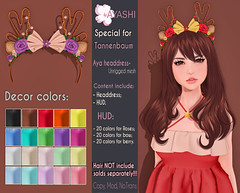 [^.^Ayashi^.^] Aya headdress special for Tannenbaum (Ikira Frimon) Tags: rigged hud anime m3 utilizator nice head mesh ayashi doll outfit hair blogger costume frimon ikira follow post blog fashion sl life second event girl beautifully special exclusive tsg kawaii kawai cute hairs sensuality lovely sexually cosplay secondlife wavy ears long averagelength medium quiff forelock bang accessory headbands rim hairstyle ayaheaddressspecialfortannenbaum ayaheaddress tannenbaum aya headdress